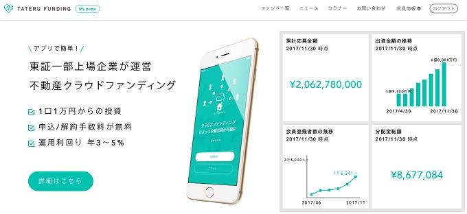 不動産投資 シミュレーション アプリ TATERUは基礎から学べる