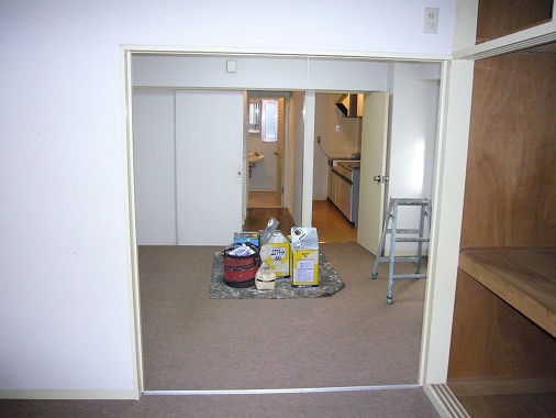 アパート 内装 工事 減価 償却 内装工事の途中