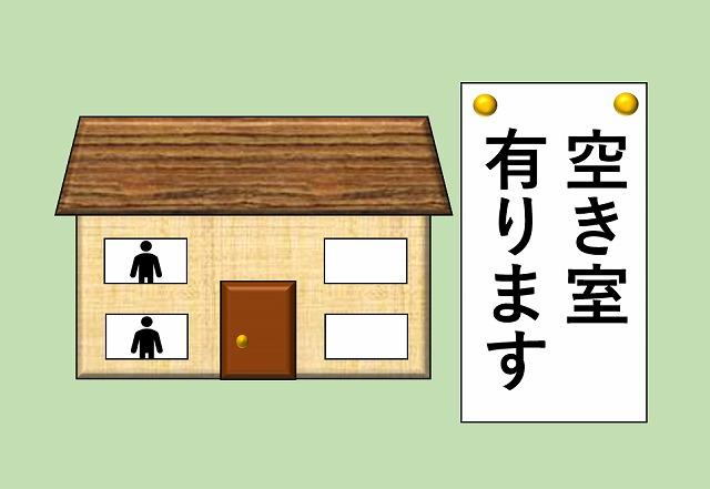 アパート 4部屋 建築費 空き室