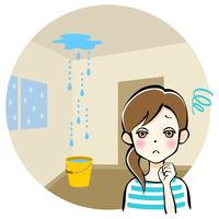 賃貸 マンション 雨漏り 家賃 減額 ひどい雨漏り