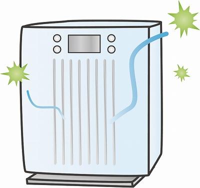 アパート 外壁 塗装 匂い 空気清浄機