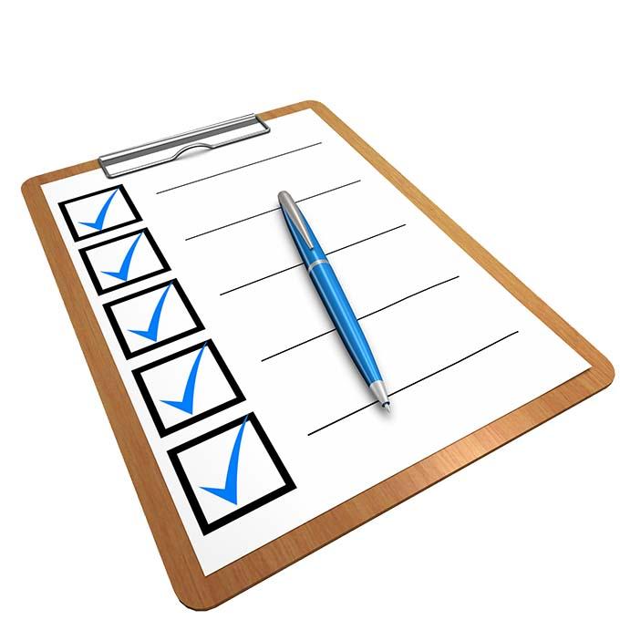 不動産 買い付け 申込書 チェックリスト